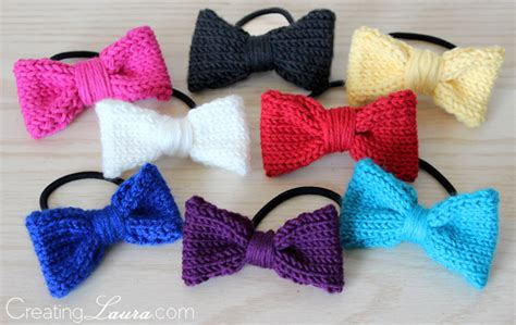 hair knitting patterns creating hair bow knitting pattern
