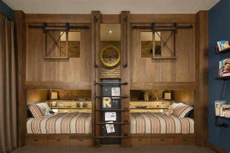 Fun Bunk Beds kids rustic industrial bedroom angelica henry design hgtv