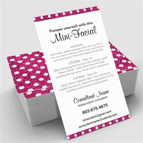 sparkle design business card templates mini card pink sparkle polka dot itw visions