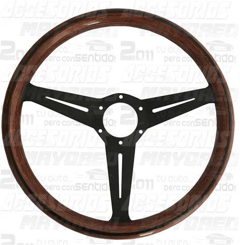 tipo volante volante tipo nardi de madera excelente acabado lleva