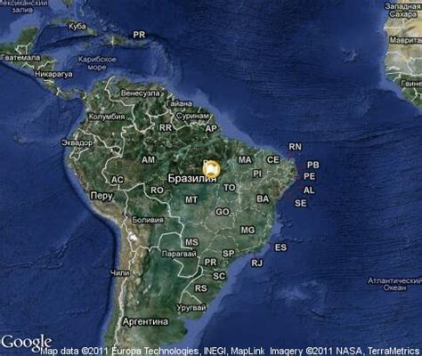 satellite map of brazil brazil popular tourist places satellite map tours tv