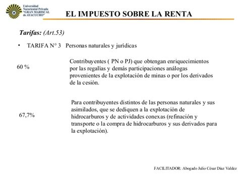 impuestos objeto sujeto base tasa y tarifa ensayos 13 unidad iv tema 13 el impuesto sobre la renta