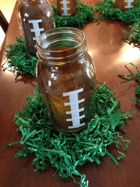 football centerpiece football pinterest football