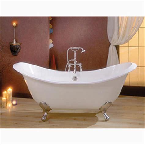 freestanding bathtubs cast iron recor regency 68 quot imperial feet freestanding bathtub