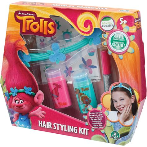 Hair Style Kit Toys Mall hair styling kit from trolls wwsm