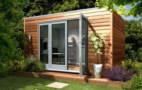 backyard office studio garden studio modern cube contemporary prefab studios