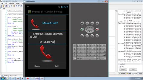 Tutorial Android Phone | android phone call tutorial using basic4android free