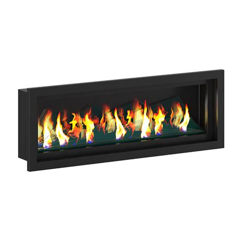 Gas Wall Fireplaces by Wall Gas Fireplace 2 3d Model From Cgaxiscgaxis 3d Models