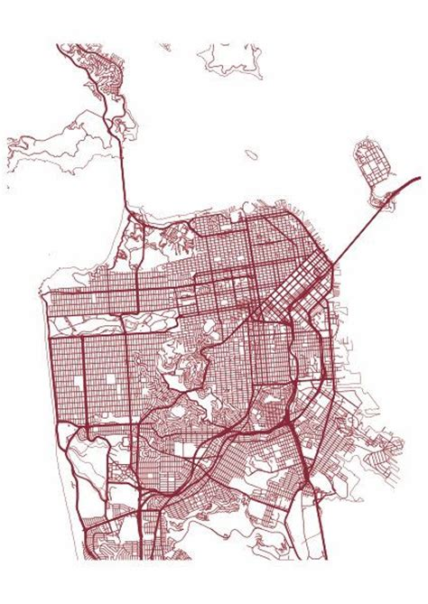 san francisco map dwg 25 best ideas about san francisco on