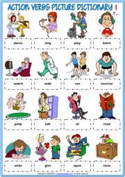 verbs esl printable worksheets and exercises