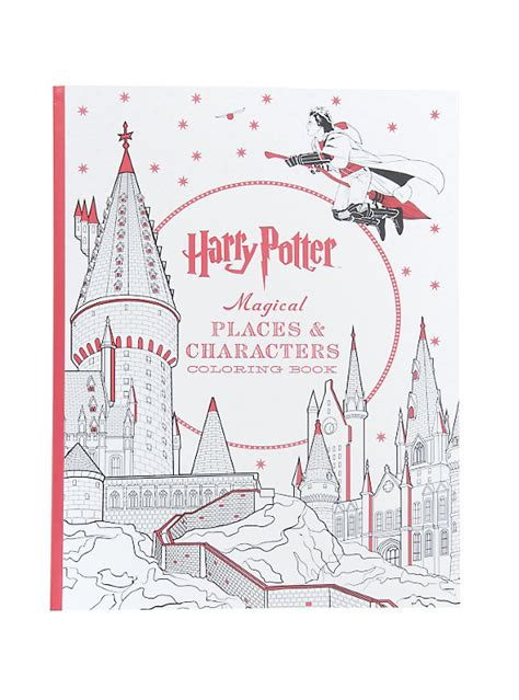 harry potter coloring book free shipping harry potter magical places characters coloring book