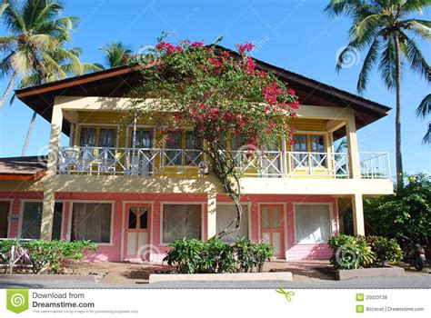 caribbean home royalty free stock photos image 20023138