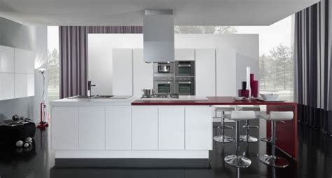 modern furniture 2012 white kitchen cabinets decorating new modern kitchen design with red and white cabinets