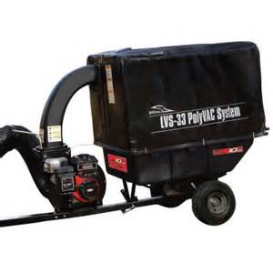 leaf vacuum home depot brinly hardy 33 cu ft tow poly vacuum system lvs