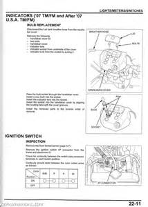 2007 2013 honda trx420fe fm te tm fpe fpm atv rancher service manual