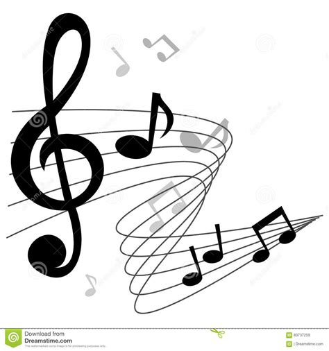 hair musical download free music notes chords vector background stock vector image