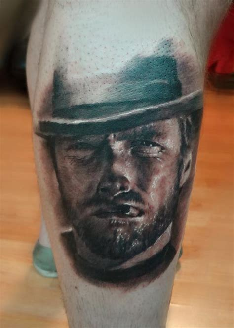 clint eastwood tattoo clint eastwood by ian robert mckown tattoos