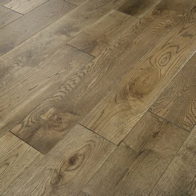 Florence Flooring by Florence Solid Smoked Oak 125mm Brushed Lacquered