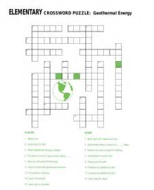 8th grade science crossword puzzles worksheets