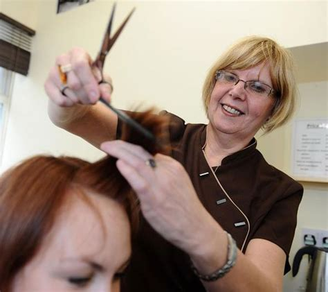 Hair Dresser by Loyal Customers Stick With Their Partially Blind