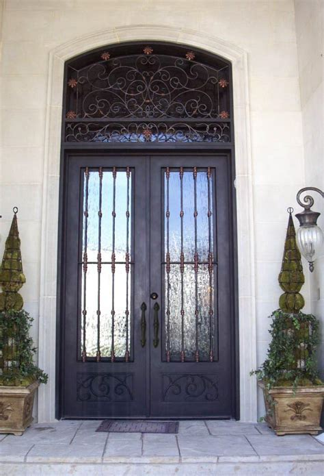Handcrafted Doors - custom iron doors wrought iron front door co