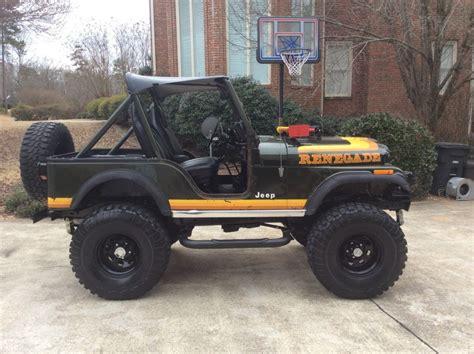 jeep cj 4 1981 a jeep cj 5 renegade survivor original paint lifted