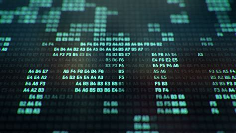 Stickercoverskingarskinprotector Notebook The Matrix Binary binary code stock footage 96763