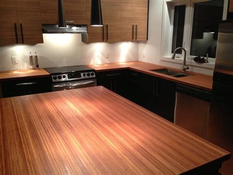 bamboo bathroom countertops 12 best bamboo countertops for kitchens or bathrooms