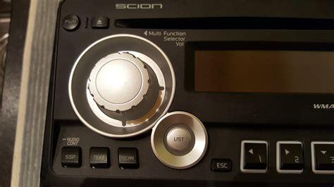 mint pioneer factory scion tc radio pt546 00100 t1814
