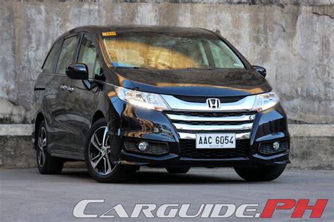 2015 honda odyssey review review 2015 honda odyssey ex v navi philippine car news