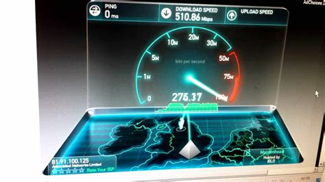 spedi test speedtest net 10 gigabit fibre