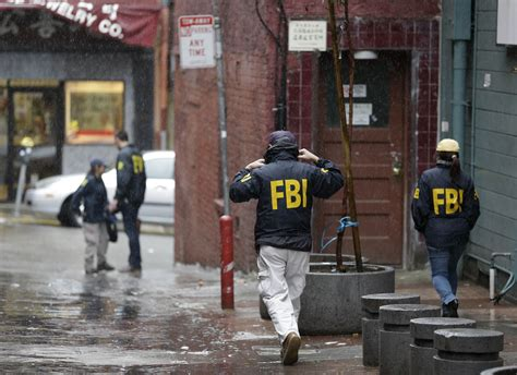 Fbi At Door by Democrats Targeted By Fbi In Raids Across The Nation