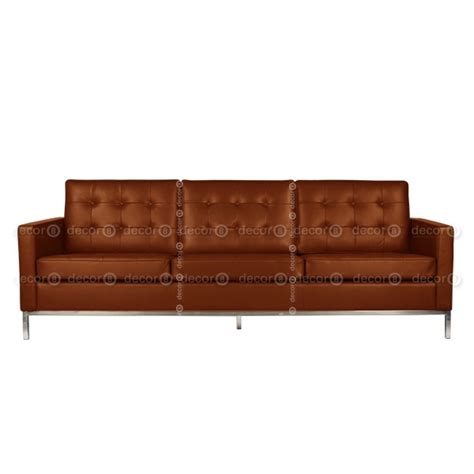 Florence Leather Sofa Decor8 Modern Furniture Florence Leather 3 Seat Sofa Three Seater Leather Sofas Office Leather