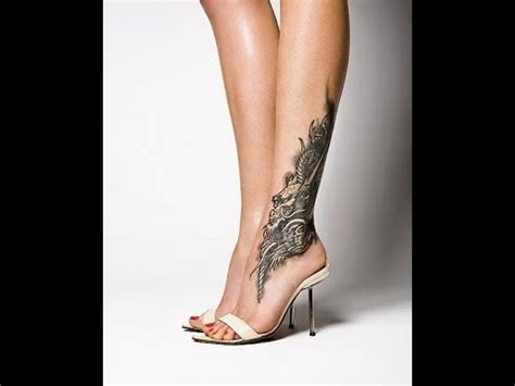 lower leg tattoos designs lower leg ideas