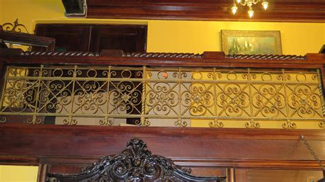 wrought iron accent l 1 piece wrought iron scrollwork railing accent section