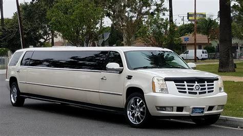 Headl Allnew Limo Kanan white stretch escalade limousine for sale 2473