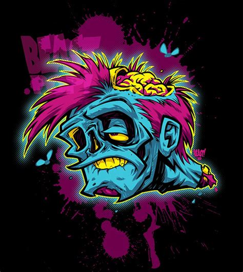 Kaos Volcom Tatto a collection of 40 horrific artworks naldz graphics