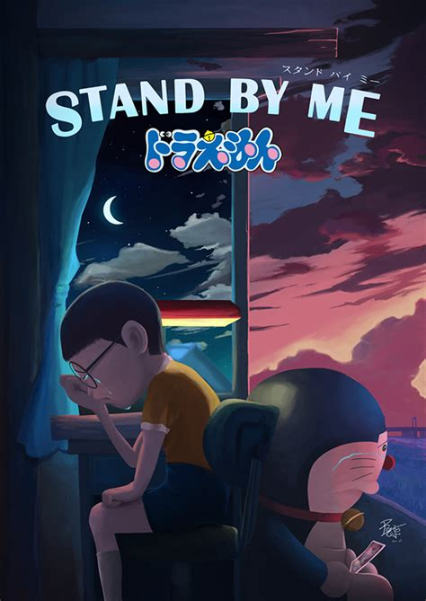 film doraemon stand by me menceritakan tentang doraemon stand by me on behance