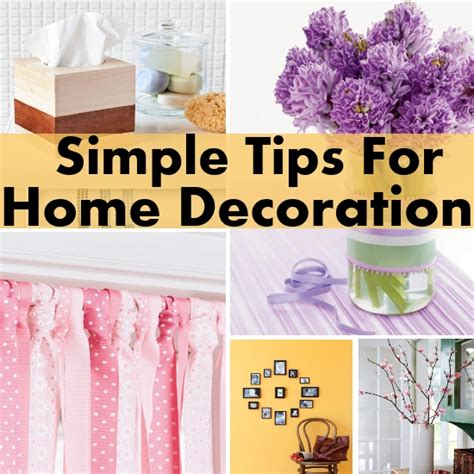things to decorate home simple and functional tips on home decoration diy home