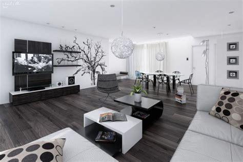 canapé noir et blanc design am 233 nagement d 233 coration salon noir et blanc design