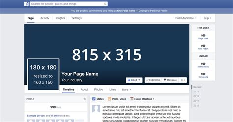 free facebook page template psd zusbudco