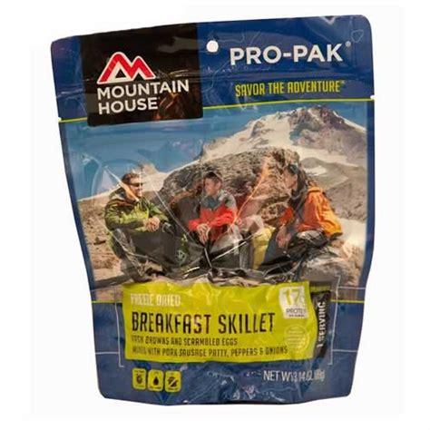 mountain house pro pak mountain house breakfast skillet entree pro pak pouch