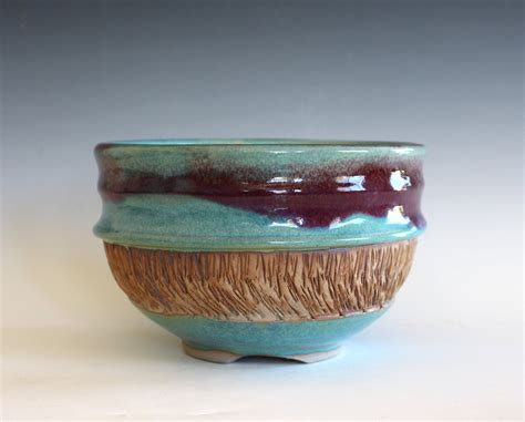 Handmade Pottery Bowl - handmade ceramic bowl pottery bowl thrown stoneware