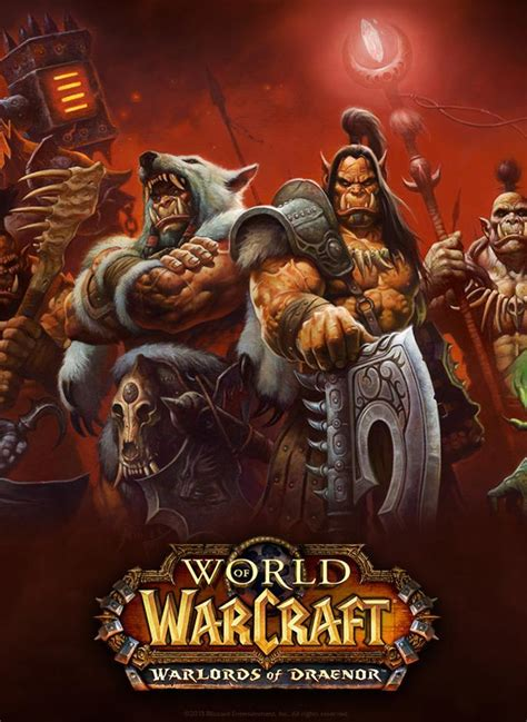wann kommt world of warcraft warlords of draenor world of warcraft warlords of draenor c 2014