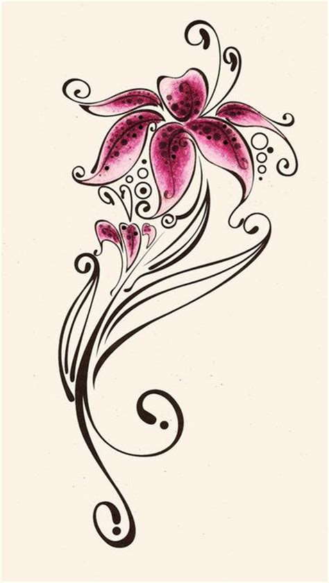 small lily tattoo designs add in quot just breathe quot for my wrist tat if
