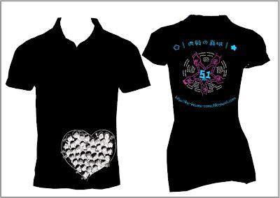 Kaos Raglan Islamic Artworks 54 qfm artworks testimoni t shirt printed by qfmartworks