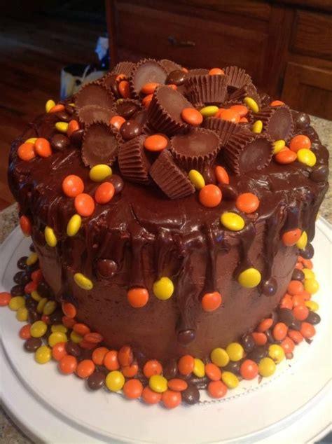 Pre Teen  Ee  Boy Ee  S  Ee  Birthday Ee   Cake Peanuter And Reeces