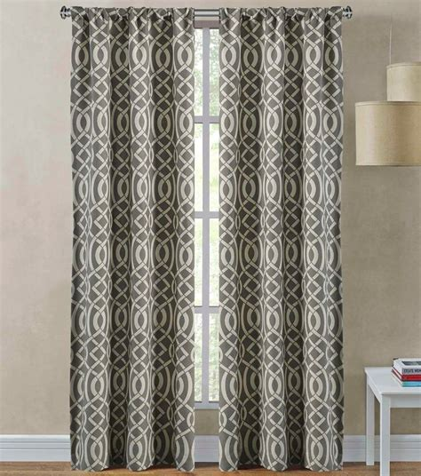 curtains sutton richloom sutton 2 pack rod pocket curtain panels rod
