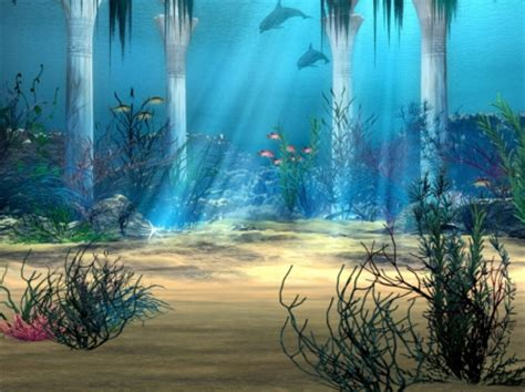 free wallpaper underwater scene underwater scene 3d and cg abstract background