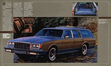 old cars and repair manuals free 1984 buick electra interior lighting directory index buick 1984 buick 1984 buick full line brochure